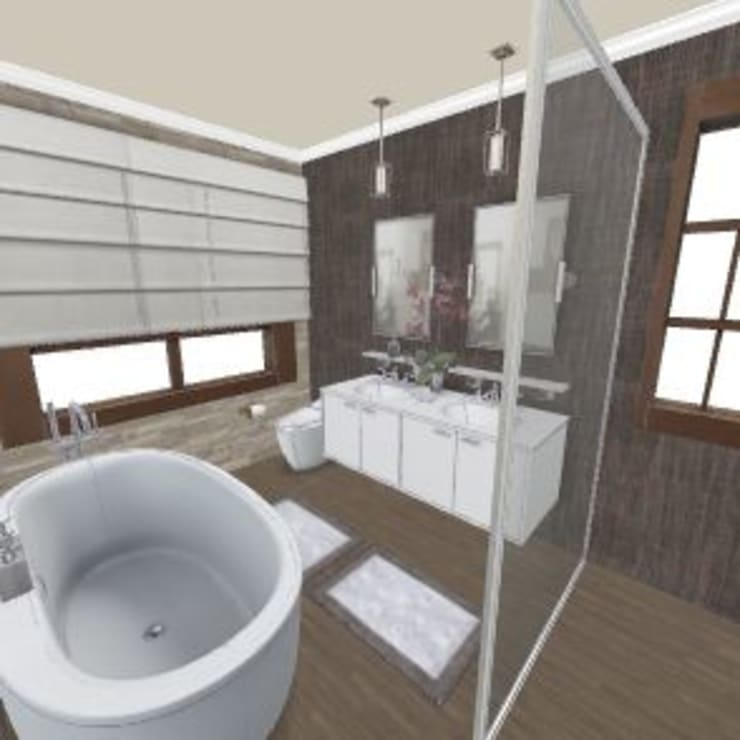 Bathroom Renovation Northcliff:   by CKW Lifestyle Associates PTY Ltd