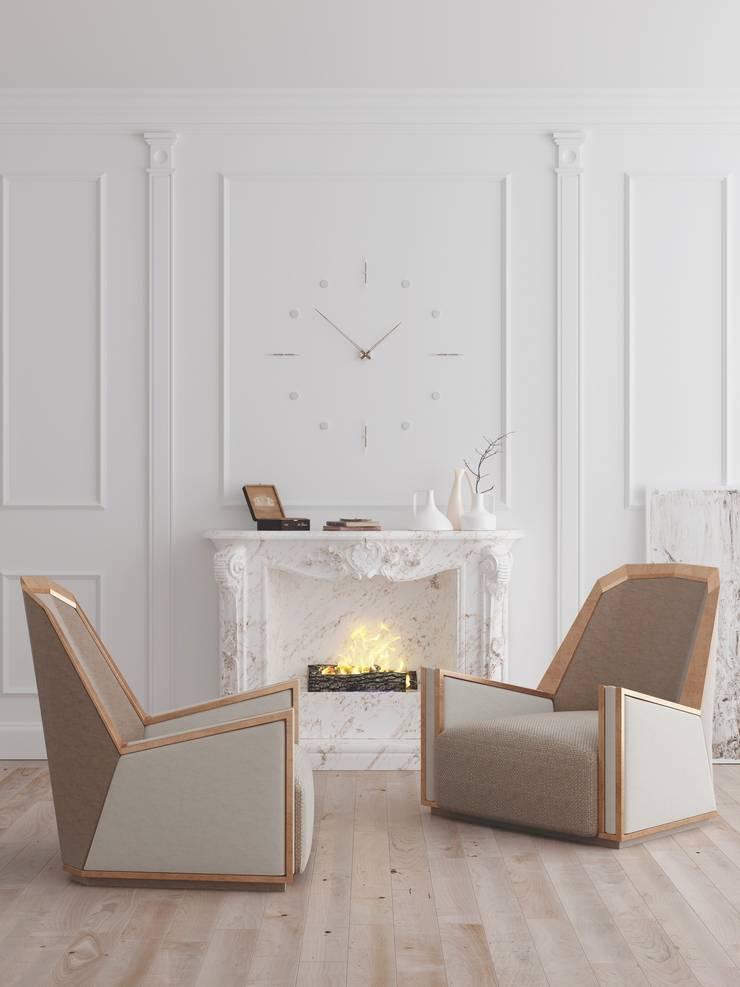 AGNOS : Sala de estar  por Aparattus Design