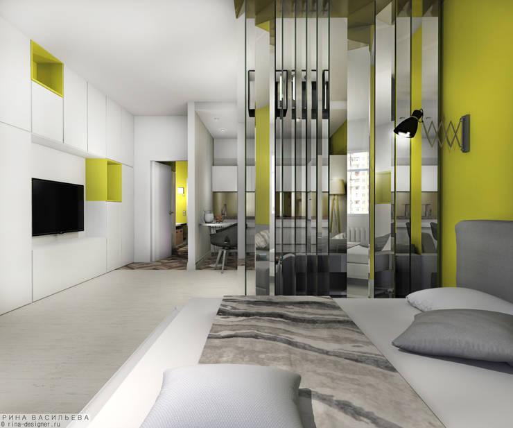 Salon de style  par дизайн интерьера Рина Васильева