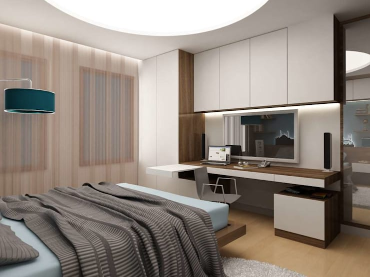 modern Bedroom by VERO CONCEPT MİMARLIK