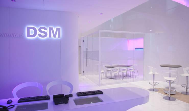 DSM K2010:  Exhibitieruimten door Spacific, Modern