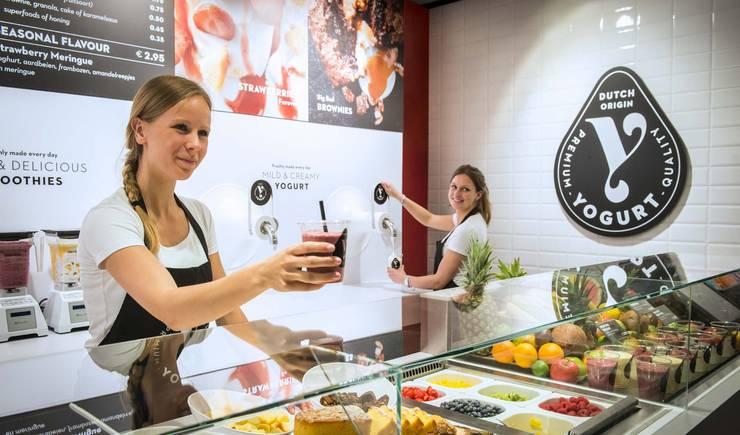 Y-yogurt:  Winkelruimten door Spacific