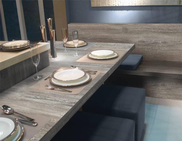 La exclusiva calidad FORMICA es el principal atributo con el que cuenta la Línea Premium.: Comedores de estilo  por FORMICA Venezuela