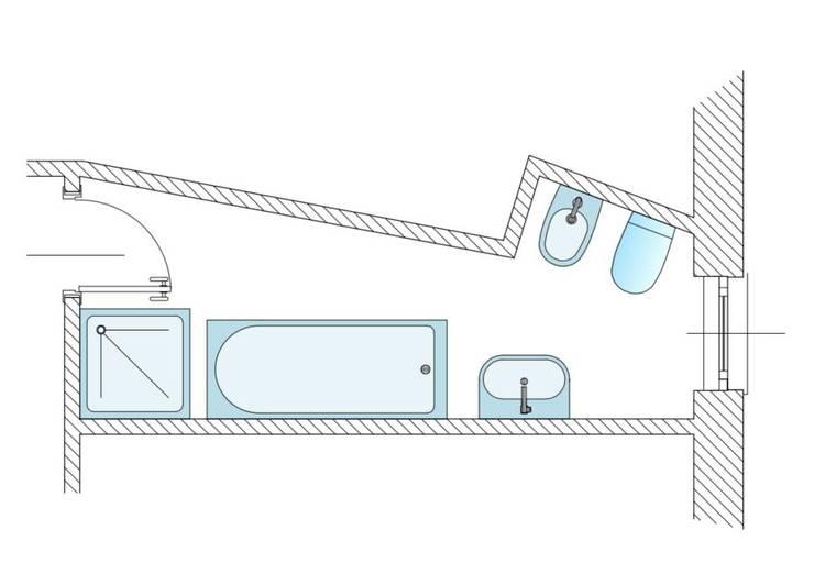 modern Bathroom by Architetto Alberto Colella