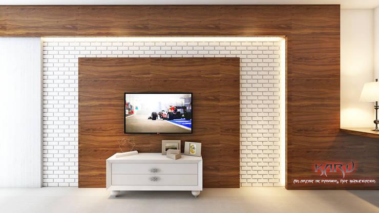 Bedroom by KARU AN ARTIST, Modern