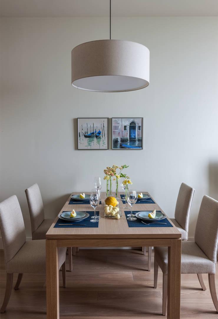 modern Dining room by Дизайн бюро Татьяны Алениной