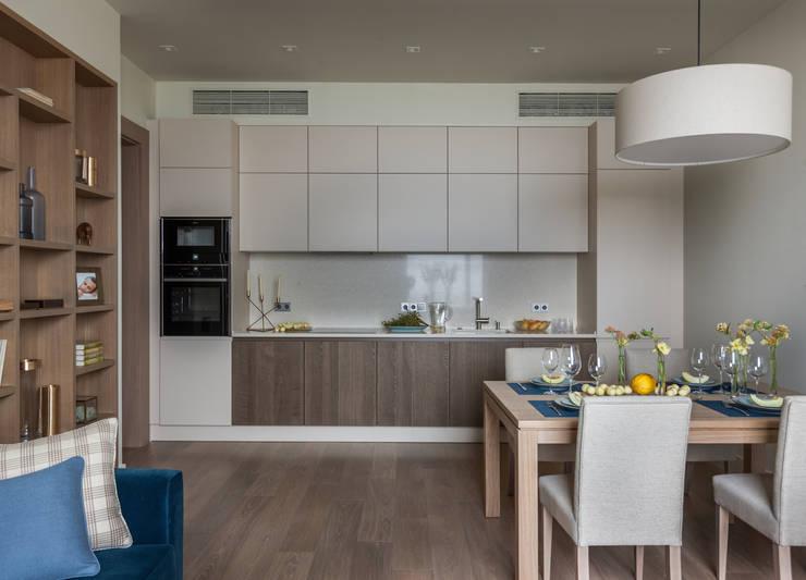 modern Kitchen by Дизайн бюро Татьяны Алениной