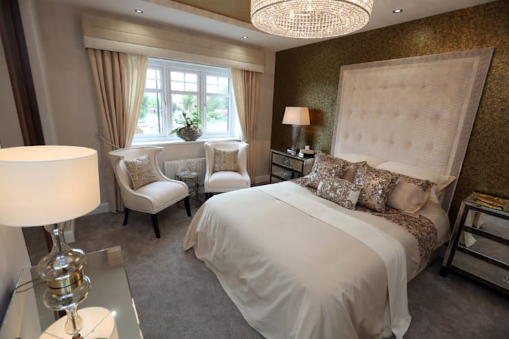 Adding those finishing touches to your home...: modern Bedroom by Graeme Fuller Design Ltd