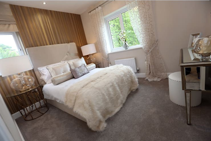 Adding those finishing touches to your home...:  Bedroom by Graeme Fuller Design Ltd