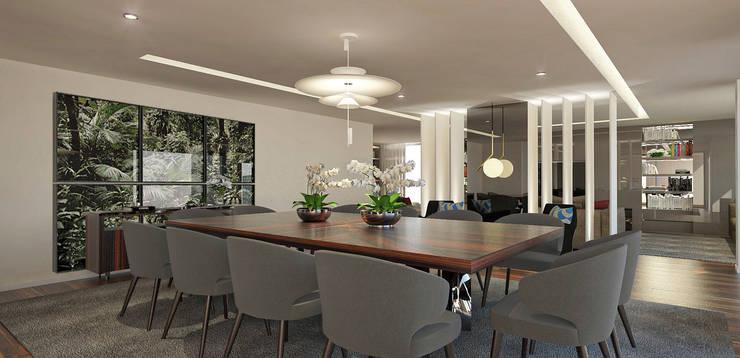 Salas de jantar  por OGO ARQUITECTOS