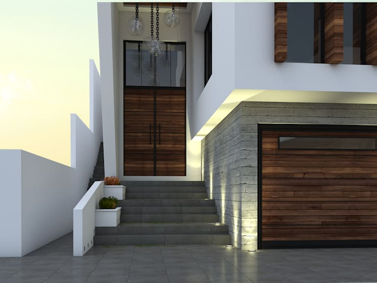 de estilo  por Spacio Diseño Construcción