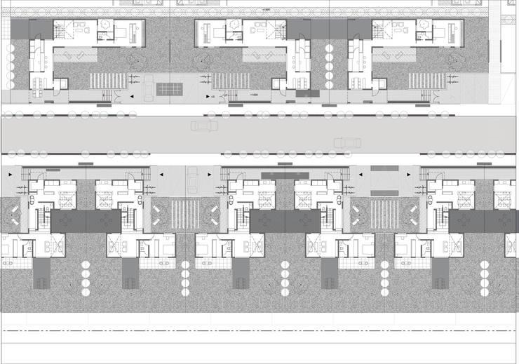 행복도시 <q>이이불이(異而不異)</q> 단독주택 특화단지 설계공모 : 서가 건축사사무소의  주택