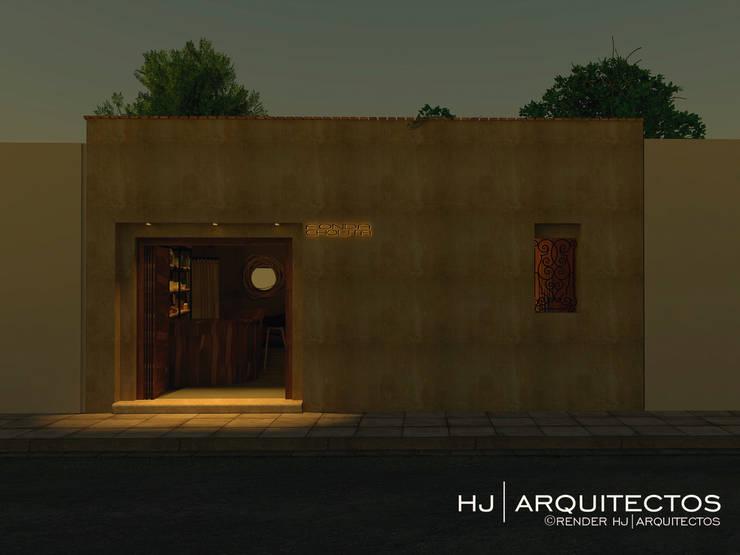 FONDA CHOLITA:  de estilo  por HJ ARQUITECTOS