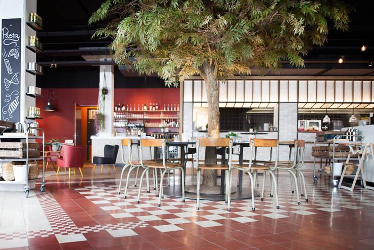 De Pastakantine Breda | Designtegels :  Eetkamer door Designtegels