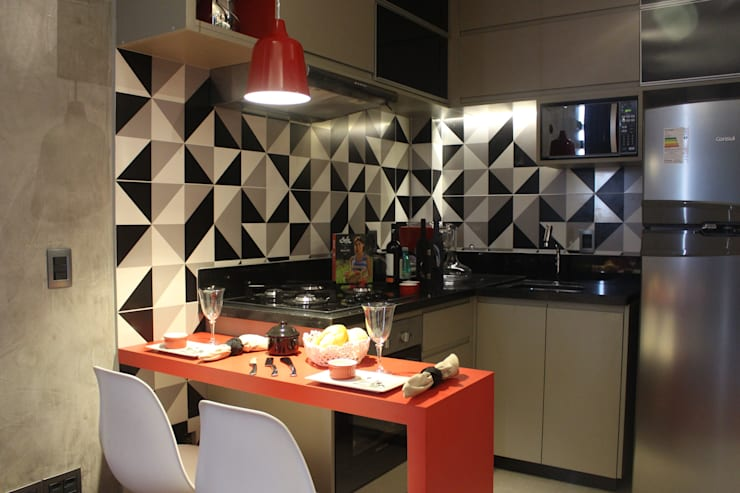 Kitchen by Concept Engenharia + Design