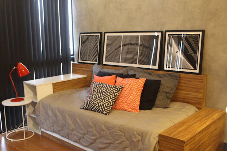 Bedroom by Concept Engenharia + Design
