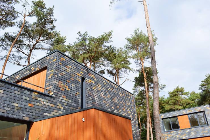 Life in the Woods, Kerckebosch te Zeist:  Huizen door Lei Import bv, Modern