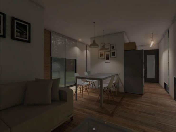 INTERIORES / VIVIENDA M / EDICION CAPSULA / TU CASA: Dormitorios infantiles de estilo  por VHA Arquitectura
