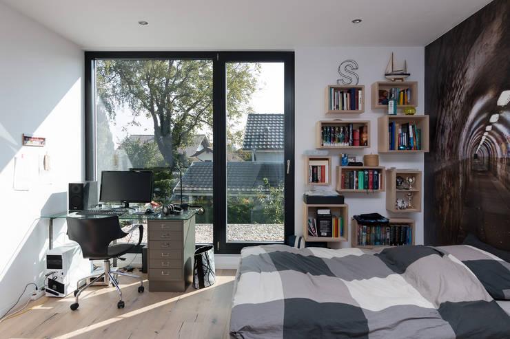 Спальни в . Автор – WSM ARCHITEKTEN