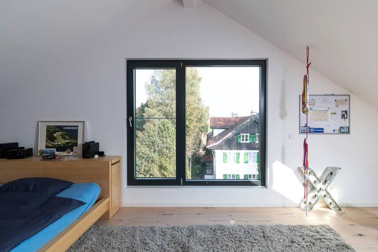 Slaapkamer door WSM ARCHITEKTEN