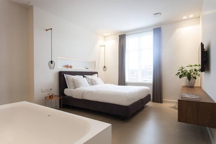slaapkamerbadkamer slaapkamer door bob romijnders architectuur interieur