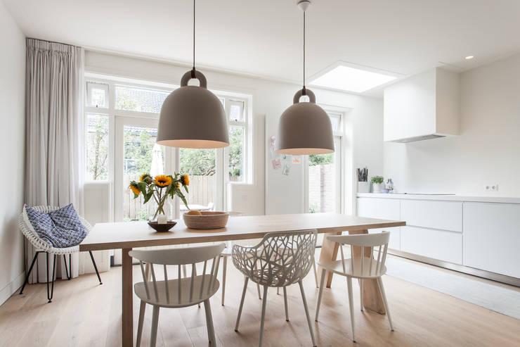 Projekty,  Kuchnia zaprojektowane przez Bob Romijnders Architectuur & Interieur