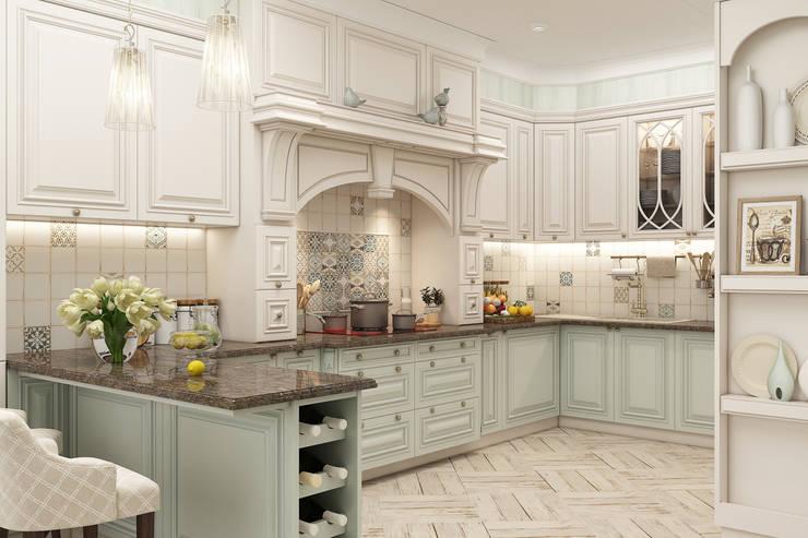 """Кухня """"Triumph"""": Кухни в . Автор – Студия дизайна Дарьи Одарюк"""
