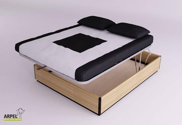 Camera Da Letto Stile Minimalista : Arredare la camera da letto in stile minimal von arpel homify