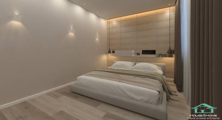 غرفة نوم تنفيذ HOUSE&HOME