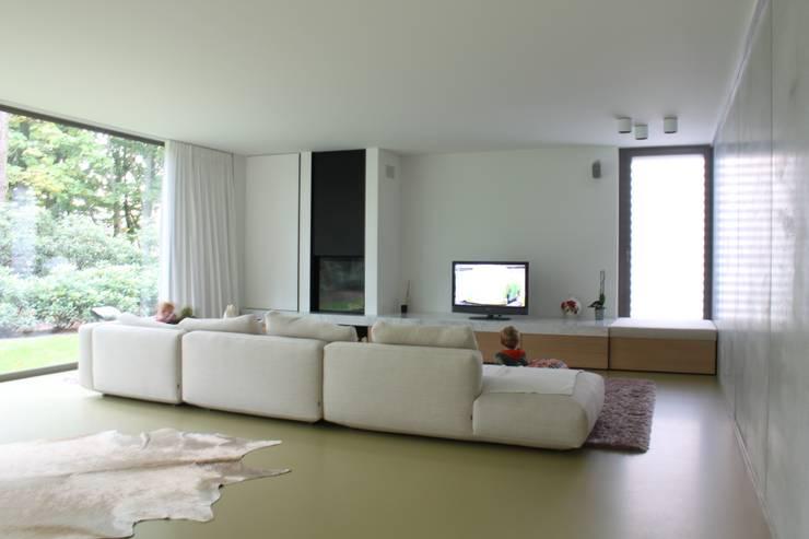 Woonkamer door studio k interieur en landschapsarchitecten