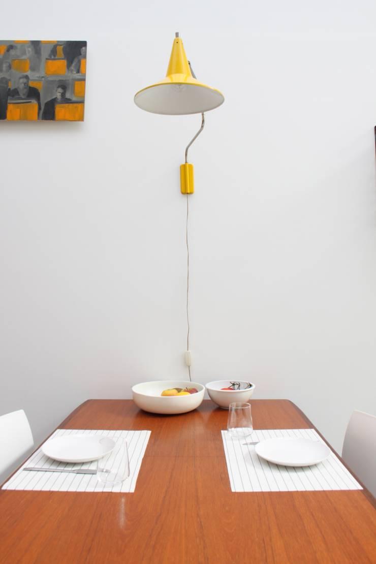 Comedores de estilo  por studio k interieur en landschapsarchitecten, Moderno