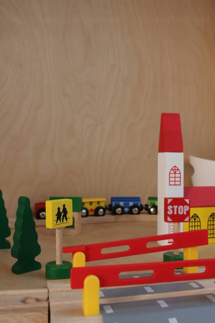 Cuartos infantiles de estilo  por studio k interieur en landschapsarchitecten, Moderno