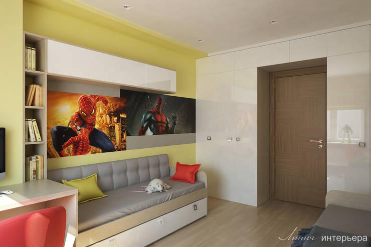 minimalistic Nursery/kid's room by Студия дизайна 'Линия интерьера'