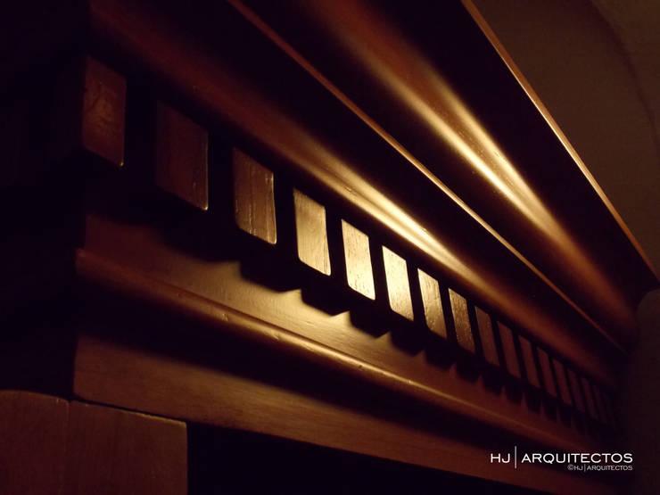 REHABILITACION Y RESTAURACION CONFECIONARIOS:  de estilo  por HJ ARQUITECTOS