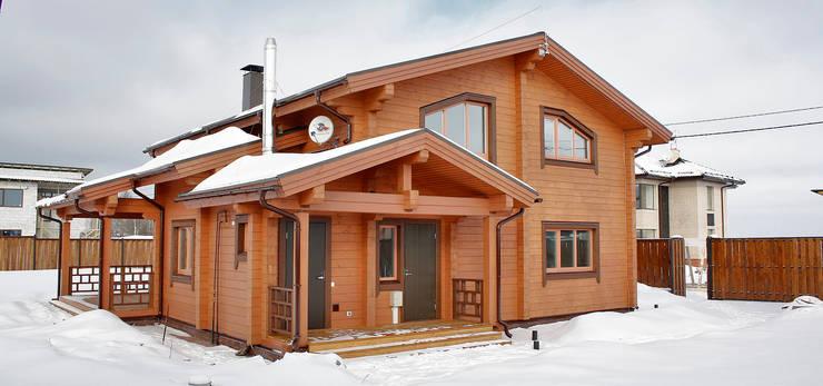 Projekty,  Domy zaprojektowane przez Дмитрий Кругляк