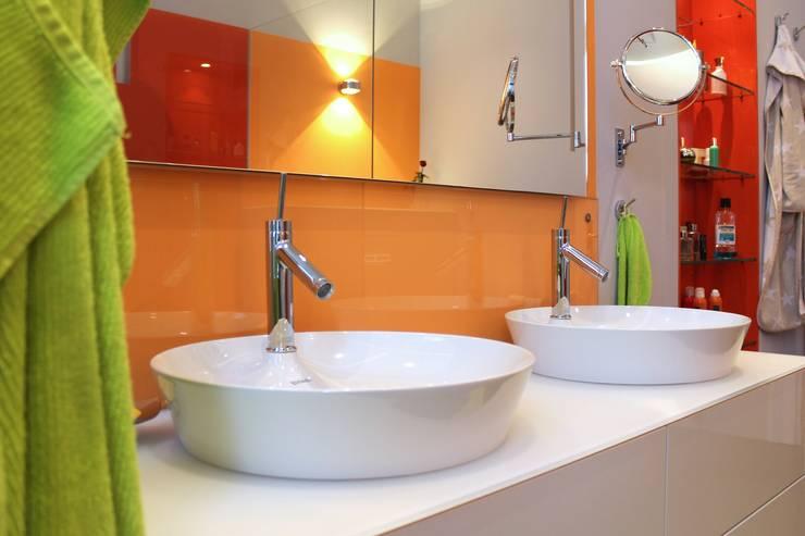 eclectic Bathroom by Will Bau & Bad