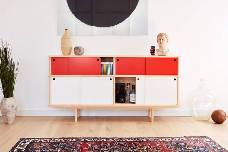 Splitter - 2x 1+1/2 ST4:  Wohnzimmer von Neuvonfrisch - Möbel und Accessoires