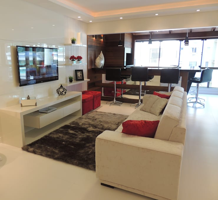 Sala de estar: Sala de estar  por Rosé Indoor Design