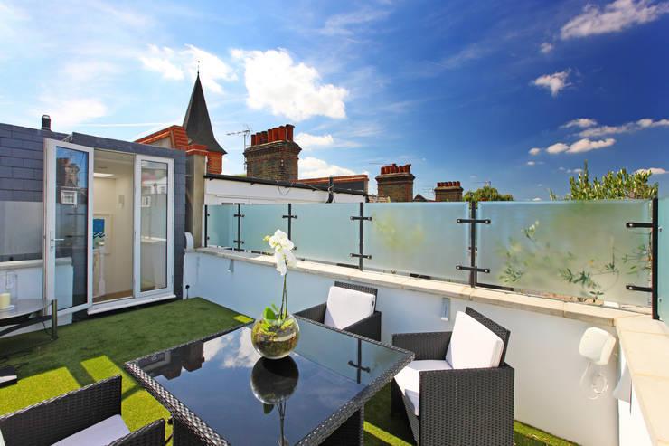 Terrasse de style  par PAD ARCHITECTS, Moderne
