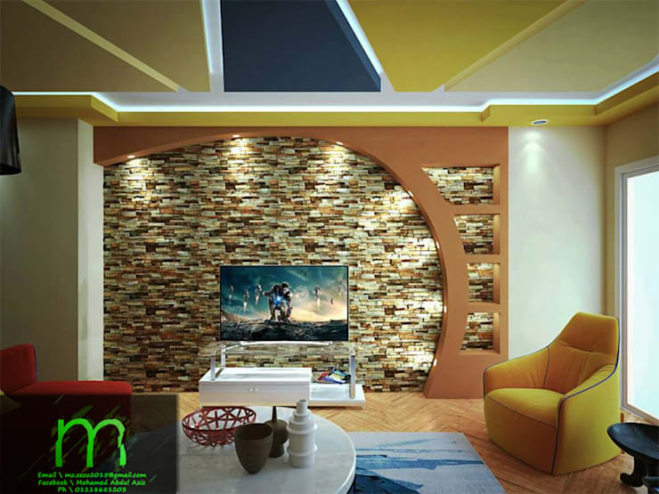 por EL Mazen For Finishes and Trims , Moderno Pedra
