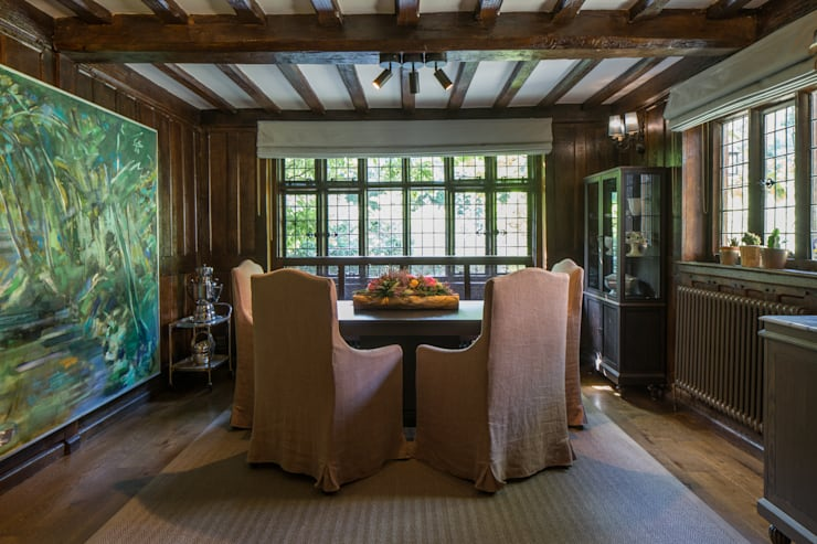 eclectic Dining room by Roselind Wilson Design