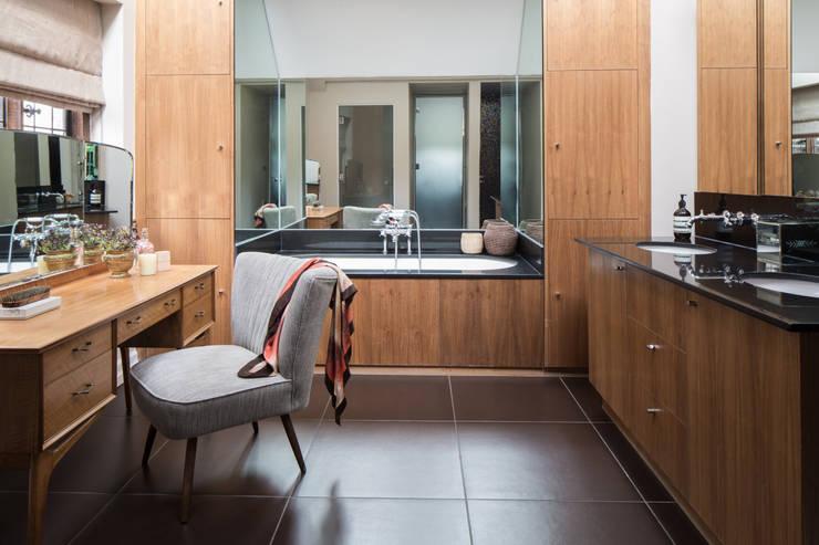 eclectic Bathroom by Roselind Wilson Design