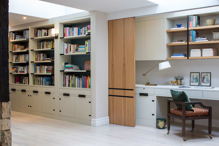 Study/office by Roselind Wilson Design
