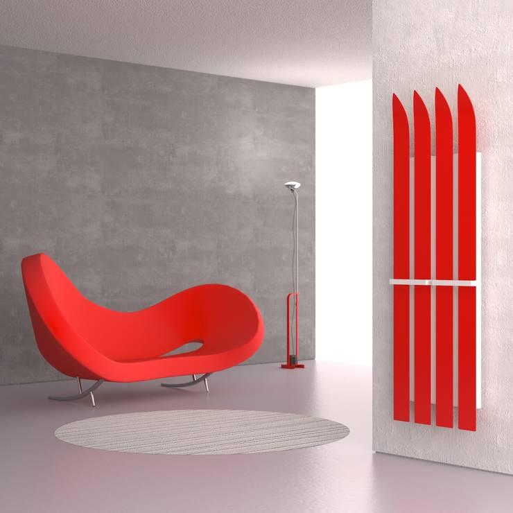 Design Heizkörper Ski von K8 Radiatori: moderne Badezimmer von RF Design GmbH