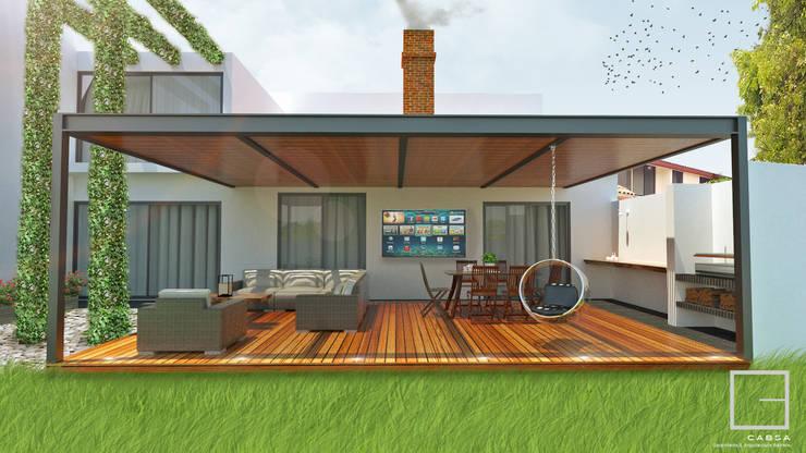 Propuesta de Remodelación.:  de estilo  por CABSA Taller de Carpintería & Arquitectura