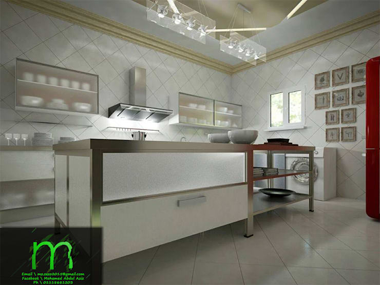 KITCHEN:  مطبخ تنفيذ EL Mazen For Finishes and Trims,