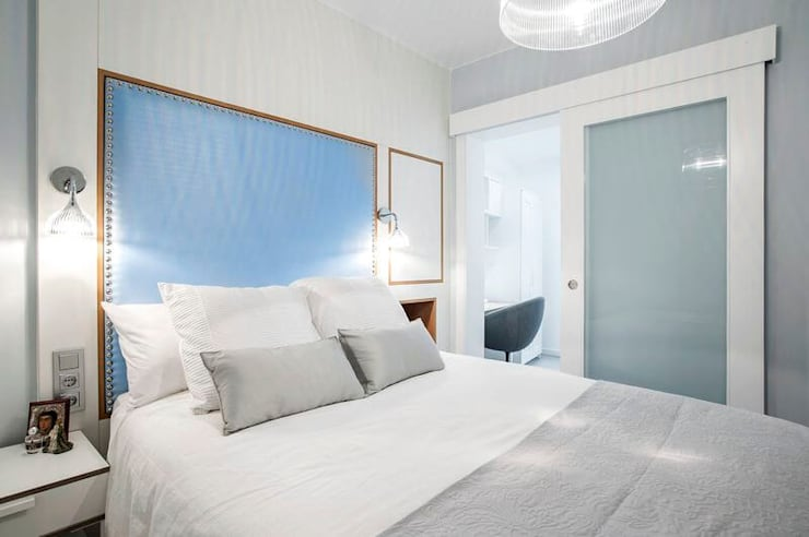 Habitaciones de estilo  por GESTION INTEGRAL DE PROYECTOS DEL NOROESTE S.L.