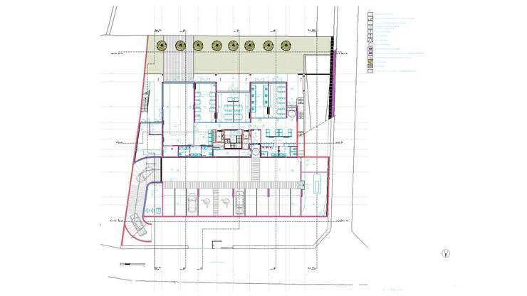 """Edifício """"AAJUDE – Associação de Apoio à Juventude Deficiente"""":   door architektengroep roderveld"""