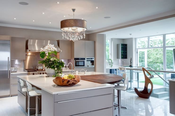 klasieke Keuken door Des Ewing Residential Architects