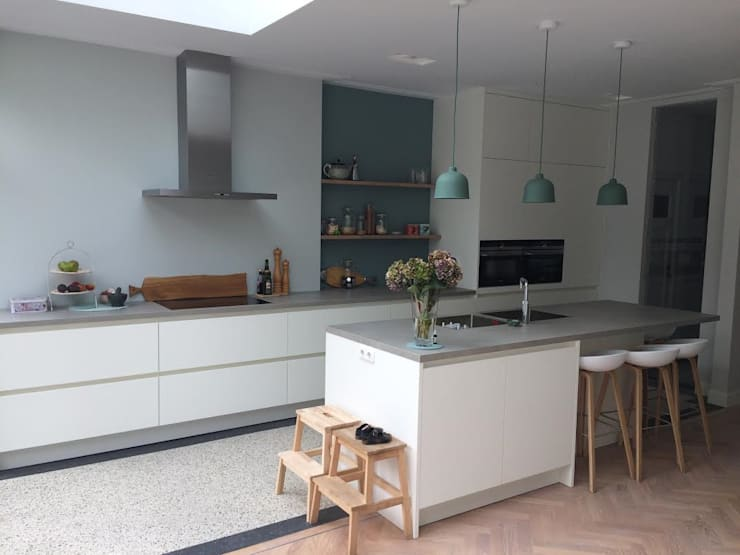 Dapur oleh Studio Binnen, Skandinavia